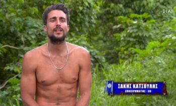 Survivor - Σάκης Κατσούλης: Μιλάει όπως μιλούσε σαν ποδοσφαιριστής (vid)
