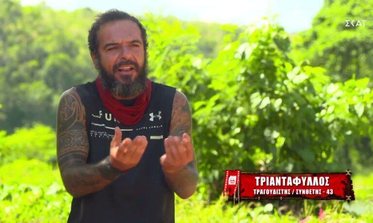Survivor: Νέες αποκαλύψεις ο Τριαντάφυλλος για Σάκη – Μαριαλένα – «Μπαίνει βγαίνει κάθε βράδυ»