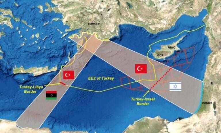 Ελληνοτουρκικά – Απίστευτη πρόκληση από Τουρκία: «Θα οριοθετήσουμε ΑΟΖ με την Γάζα» – Δεν καταδικάζει η Παλαιστίνη