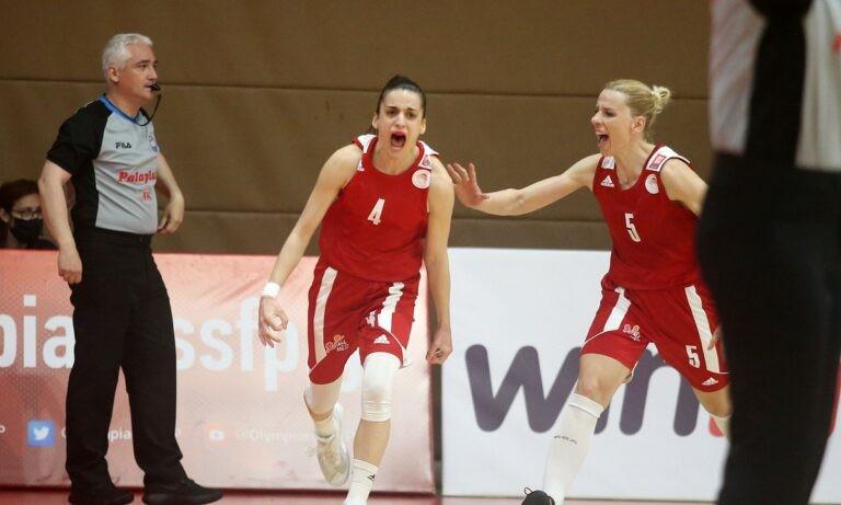 Α1 Γυναικών: Το ντέρμπι και το αβαντάζ στους τελικούς ο Ολυμπιακός