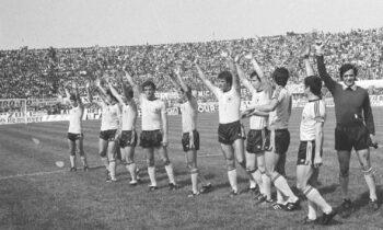 17 Μαΐου 1978: Σαν σήμερα πριν από 43 χρόνια, η ΑΕΚ, είχε νικήσει με 6-1 τον Ολυμπιακό στον ημιτελικό του Κυπέλλου Ελλάδας 1977-78.