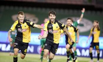 Η ΑΕΚ πέτυχε τον μίνιμουμ στόχο της σεζόν. Κέρδισε τον ΠΑΟ, τον άφησε εκτός και η ίδια εξασφάλισε την συμμετοχή της στην Ευρώπη.