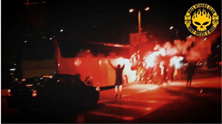 Άρης: Το εντυπωσιακό βίντεο του «ARIS Athens club» από την υποδοχή στο αεροδρόμιο (vid)