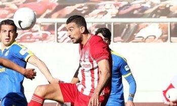 Αστέρας Τρίπολης-Ολυμπιακός για την 8η αγωνιστική των πλέι οφ της Super League 1, αναμέτρηση που δεν έχει βαθμολογικό ενδιαφέρον.
