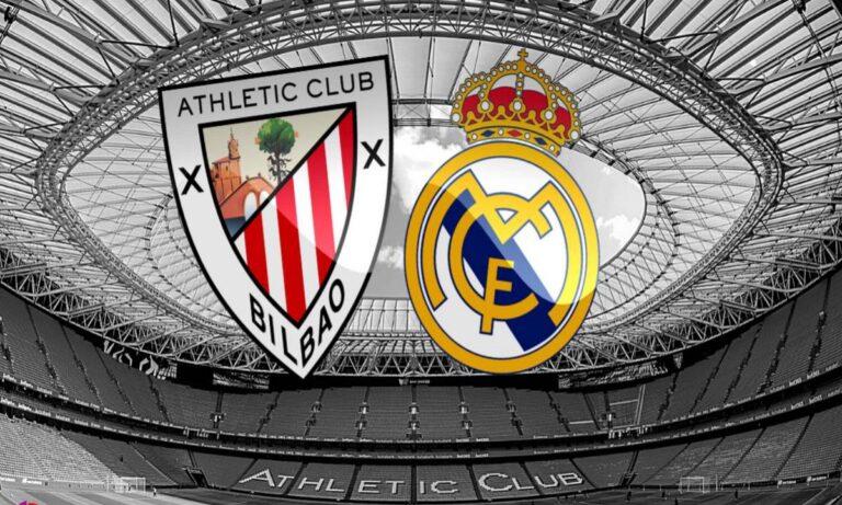 Αθλέτικ Μπιλμπάο-Ρεάλ Μαδρίτης:Παρακολουθήστε LIVE από το Sportime την αναμέτρηση για την 37η αγωνιστική της Primera Division.