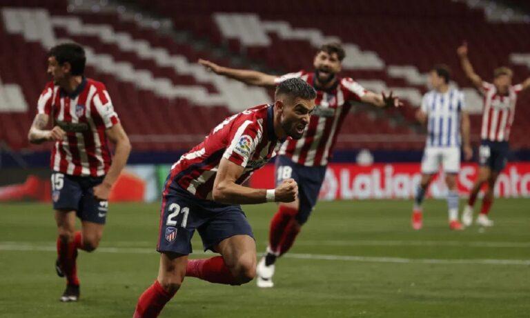 Ατλέτικο Μαδρίτης – Ρεάλ Σοσιεδάδ 2-1: Ένα βήμα πιο κοντά στον τίτλο!