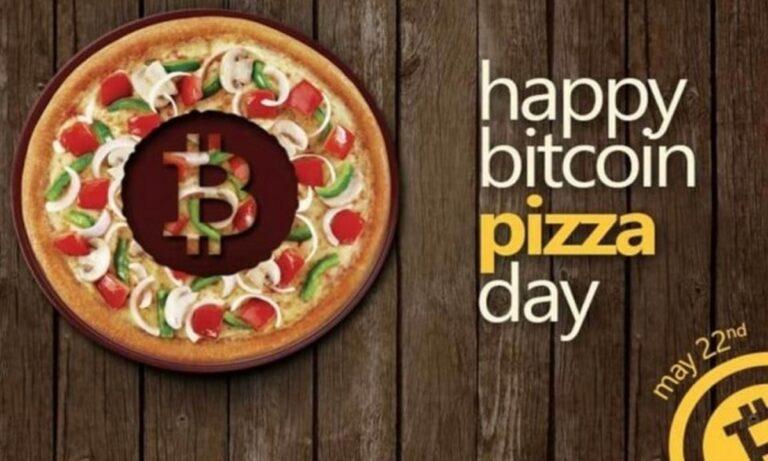 22 Μαΐου: Ημέρα Αγοράς Πίτσας με Μπίτκοϊν