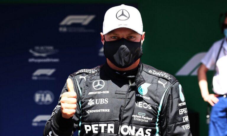 Grand Prix Πορτογαλίας: Ο Βάλτερι Μπότας έκανε το πολυπόθητο ξεπέταγμα, άφησε πίσω τους Λιούις Χάμιλτον-Μαξ Φερστάπεν και πήρε την pole.