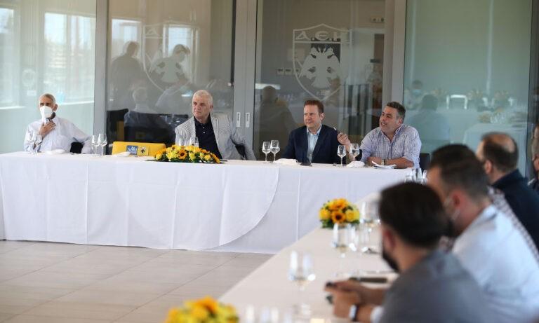 Μελισσανίδης: «Νο1 στην ΑΕΚ θα είναι ο Παπαδημητρίου, θα κάνουμε ότι χρειαστεί οικονομικά -Δεν αλλάζω φιλοσοφία»