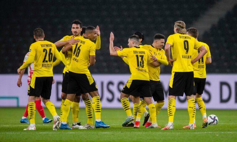 Λειψία – Ντόρτμουντ 1-4: Κυπελλούχος Γερμανίας για… πλάκα! (vids)