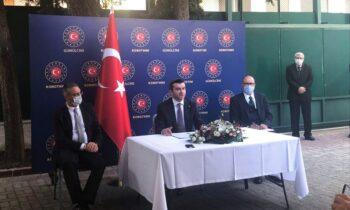 Eλληνοτουρκικά: Ο Γιαβούζ Σελίμ Κιράν, υφυπουργός Εξωτ. της Τουρκίας, εγείρει θέμα «τουρκικής» μειονότητας από την Ελλάδα, όπου βρίσκεται.