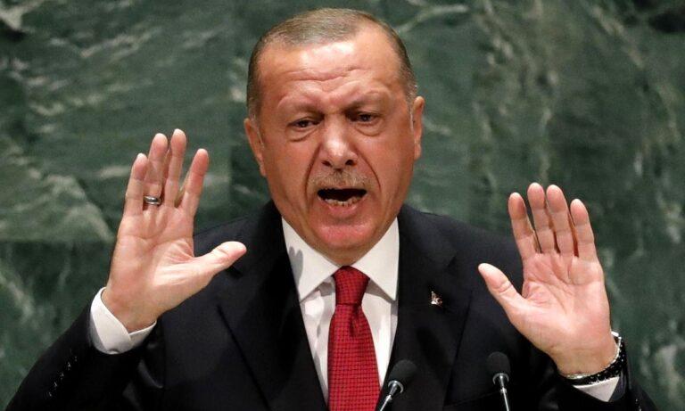 Ξεφεύγουν οι προκλήσεις του Ερντογάν: «Οι Ελληνοκύπριοι δεν έχουν ενεργήσει τίμια»