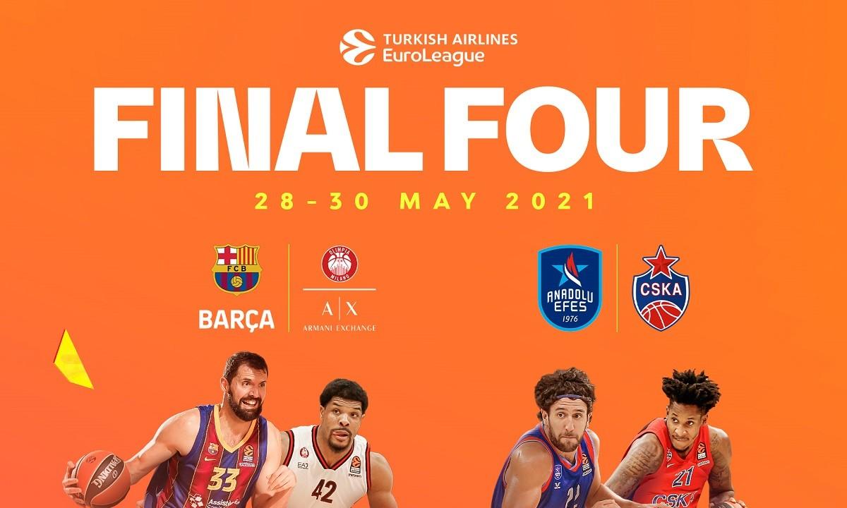 Euroleague: Τα ζευγάρια του Final Four