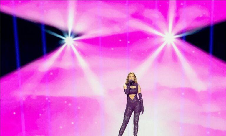 Eurovision 2021: Η εντυπωσιακή Στεφανία τα «σπάει» και στη δεύτερη πρόβα της