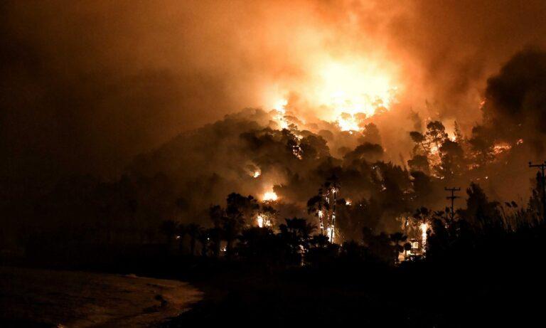 Φωτιά Κορινθία: Οι ελπίδες στα εναέρια μέσα – Στάχτη 20.000 στρέμματα