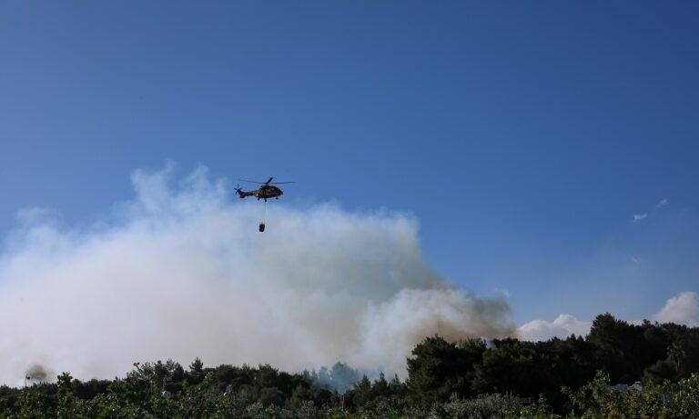 Φωτιά Μέγαρα: Εκκενώθηκαν οι οικισμοί Παπαγιαννέικα και Καλκάνι