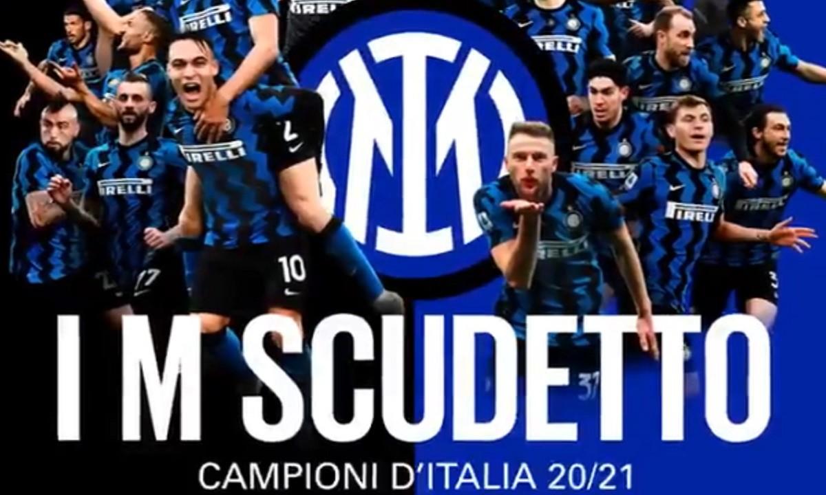 Ίντερ: «I'm Scudetto» – Το εντυπωσιακό βίντεο της πρωταθλήτριας Ιταλίας (vid)
