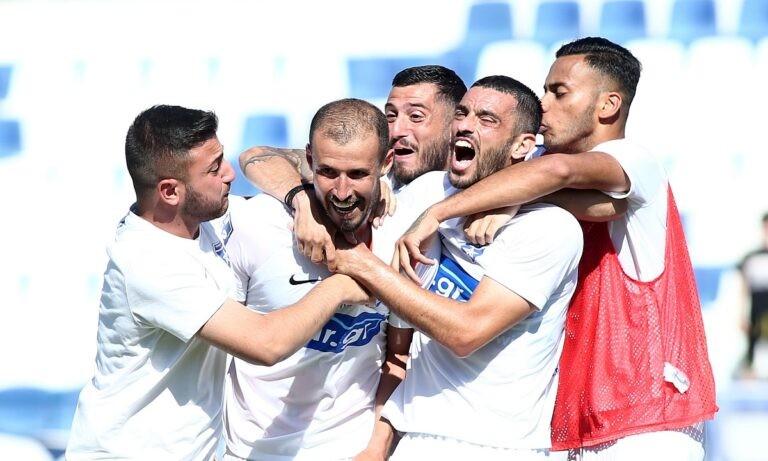 Ιωνικός: «Κάηκε» η Νίκαια για την επιστροφή της ομάδας στη Super League 1 (pics+vid)