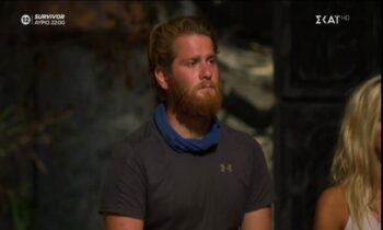 SURVIVOR: Οι λόγοι που οδήγησαν στην αποχώρηση του Τζέιμς