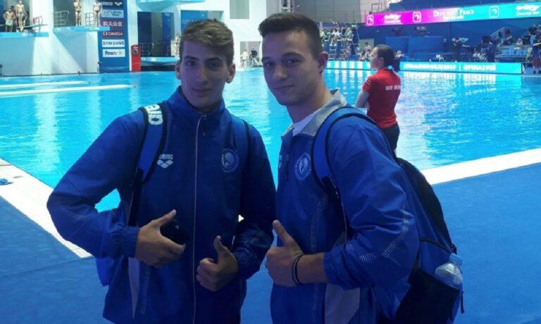 FINA World Cup - Καταδύσεις: Στη 10η θέση στον τελικό οι Μόλβαλης και Τσιρίκος