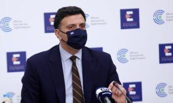 Κικίλιας: Ο υπουργός Υγείας αναφέρθηκε στην πορεία των εμβολιασμών και τη γενική εικόνα, κατά την ενημέρωση των δημοσιογράφων την Τετάρτη (5/5).