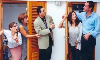 Κωνσταντίνου και Ελένης: Η Μαρία Λεκάκη και ο Βασίλης Κούκουρας φωτογραφήθηκαν μαζί μετά από πολλά χρόνια.