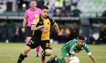 Ο Κώστας Γαλανόπουλος βραβεύτηκε για το καλύτερο γκολ της 4ης αγωνιστική των πλέι οφ της Super League.