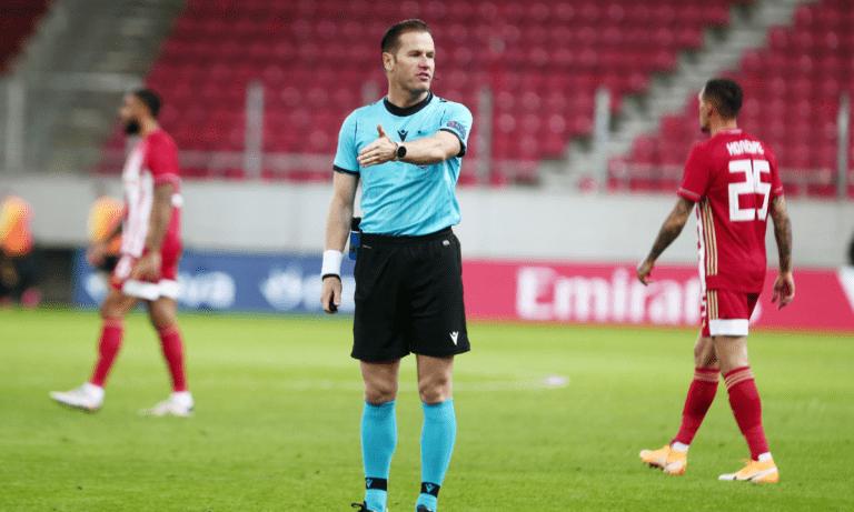 Τελικός Κυπέλλου: Ο Ολλανδός Ντάνι Μακέλι θα διευθύνει την αναμέτρηση στο ΟΑΚΑ το προσεχές Σάββατο (22/5-21.00) στο ΟΑΚΑ.