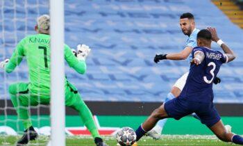 Μάντσεστερ Σίτι-Παρί Σεν Ζερμέν στη ρεβάνς των ημιτελικών του Champions League, με το πρώτο ματς να έχει λήξει 2-1 υπέρ της αγγλικής ομάδας.