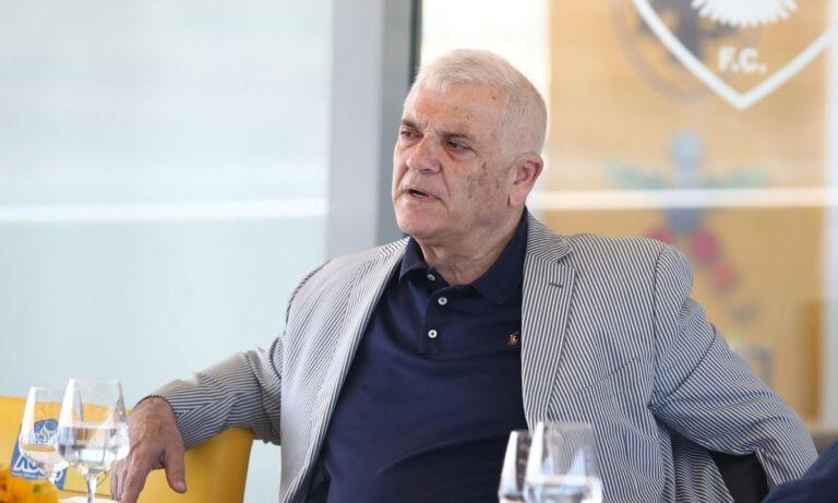 Μελισσανίδης: «Δεν υπάρχει μπάτζετ, ο Βράνιες είναι καμμένα λάδια…»