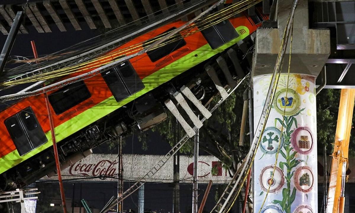 Μεξικό: Τραγωδία στο Μετρό – Κατέρρευσε γέφυρα και σκότωσε τουλάχιστον 15 ανθρώπους!