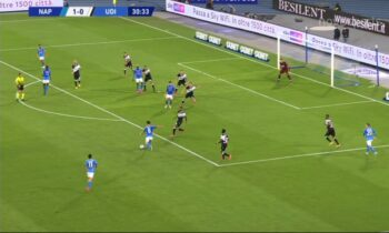 Νάπολι - Ουντινέζε 5-1: «Κλειδώνει» την έξοδο στο Champions League
