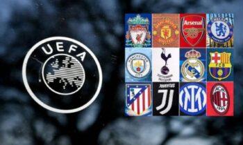 Παρά τις απειλές της UEFA, αλλά και τις έντονες αντιδράσεις των οπαδών Μπαρτσελόνα Ρεάλ και Γιουβέντους επιμένουν για τη δημιουργία της European Super League!