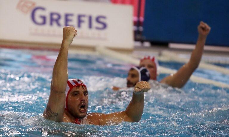 Ολυμπιακός – Βουλιαγμένη 11-9: Έκανε το 2-0 και «άλμα» τίτλου!