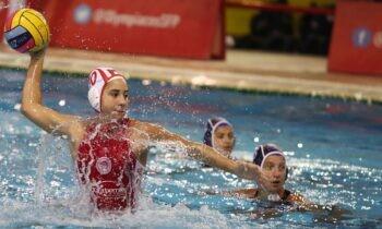 Ολυμπιακός πόλο: Επιβλητική ήταν η παρουσία του στο μεγάλο ντέρμπι της κανονικής περιόδου της Α1 Γυναικών με τη Βουλιαγμένη.