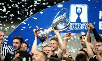Βαθμολογία Super League 1: Ο ΠΑΟΚ πέρασε μόνος στη 2η θέση έπειτα από τη νίκη στο ΟΑΚΑ επί της ΑΕΚ και την απώλεια του Άρη.