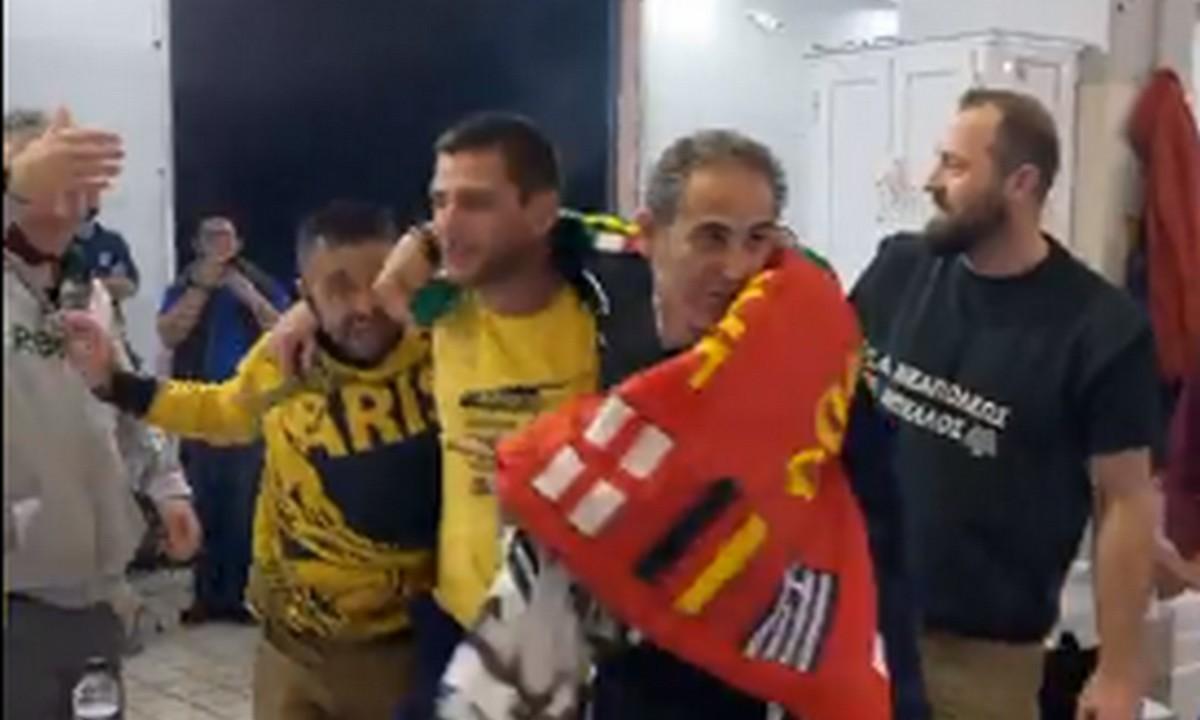 ΣΥΛΛΕΚΤΙΚΟ: ΠΑΟΚτσήδες γιορτάζουν το Κύπελλο μαζί με οπαδούς του Άρη! (vids)