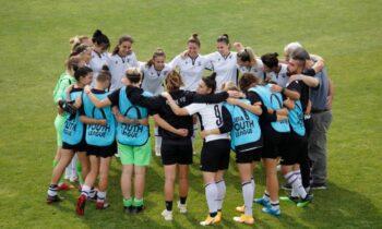 Ο ΠΑΟΚ στην πορεία του προς ακόμα έναν τίτλο στην Α' Εθνική Γυναικών «σκόρπισε» την Καστοριά στη Νέα Μεσημβρία με 14-0.