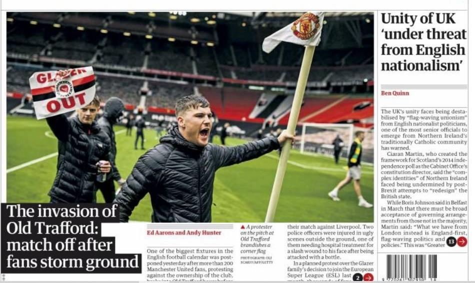 Καταστάσεις που είχαμε να δούμε πολλά πολλά χρόνια στα αγγλικά γήπεδα, βιώσαμε πριν από το ντέρμπι Μάντσεστερ Γιουνάιτεντ-Λίβερπουλ την Κυριακή (3/5).