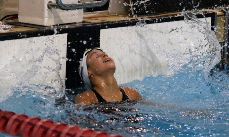 Ρακοπούλου: Ήταν πρωταγωνίστρια στην δεύτερη ημέρα του διεθνούς κολυμβητικού μίτινγκ «Ακρόπολις» που ολοκληρώνεται την Κυριακή στο ΟΑΚΑ.