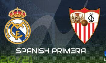 Ρεάλ Μαδρίτης-Σεβίλλη: Παρακολουθήστε LIVE από το Sportime την αναμέτρηση για την 35η αγωνιστική της Primera Division.