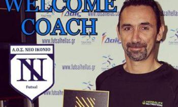Καρασάββας στο Futsalhellas: «Στην ελίτ του ελληνικού futsal το Ικόνιο»