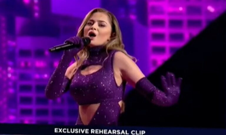 Eurovision Eλλάδα: Το λάθος του Ευαγγελινού που ελπίζουμε να μην πληρώσουμε σήμερα στον ημιτελικό με τους... ψηφιακούς χορευτές.