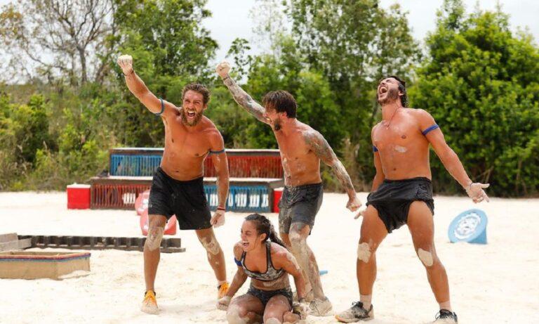 Survivor διαρροή spoiler 25/5: Στατιστικά! Νίκη στο ρελαντί για τους Μπλε (vid)