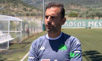 Συλαϊδόπουλος: Παραχώρησε δηλώσεις στη NOVA εν όψει του εκτός έδρας ματς με τον Άρη για την 9η αγωνιστική των πλέι οφ της Super League 1.