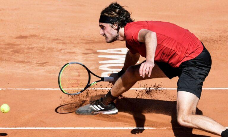 Italian Open – Tσιτσιπάς: Ξεπέρασε εύκολα το επικίνδυνο εμπόδιο του Μάριν Τσίλιτς