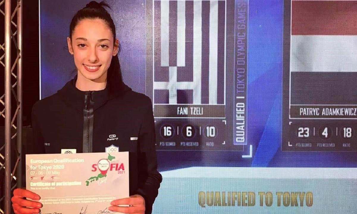 ΚΙΝΑΛ: Ο Θανάσης Ζαννιάς συνεχάρη την Φένια Τζέλη για την πρόκριση της στους Ολυμπιακούς του Τόκιο!