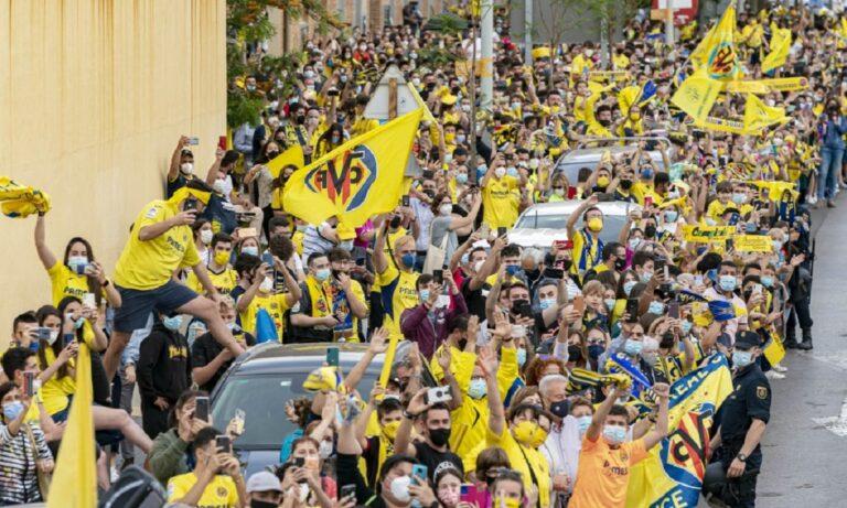 Βιγιαρεάλ: Υποδοχή ηρώων στην Ισπανία (vid)