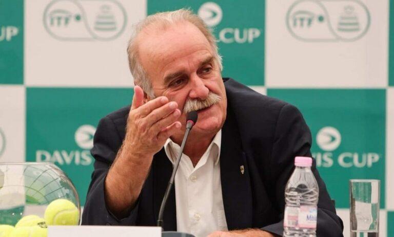 Ο Προέδρος της Επιτροπής Ολυμπιακής Προετοιμασίας και Αντιπροέδρος της Tennis Europe, Σπύρος Ζαννιάς παραχώρησε μια εξαιρετικά