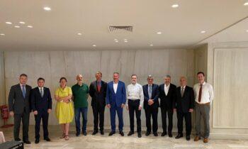 Με οικοδεσπότες την Ε.Ο.Ξ. και τον πρόεδρο της, Ιωάννη Λιγνό, φιλοξενήθηκε στην Αθήνα, ευρεία προεδρική συνάντηση εργασίας εκπροσώπων-χωρών του νοτιοανατολικού ευρωπαϊκού τόξου των Εθνικών Ομοσπονδιών ξιφασκίας